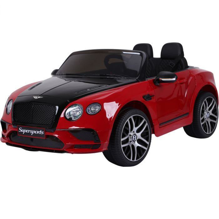 Licensed Bentley Continental Supersports 12V Ride On Children's Electric Car - Red - EpicStuff
