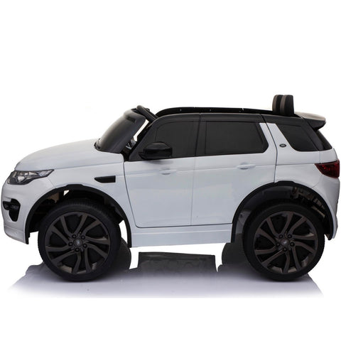 12V Licensed Land Rover Discovery HSE Sport Ride On Car - White - EpicStuff