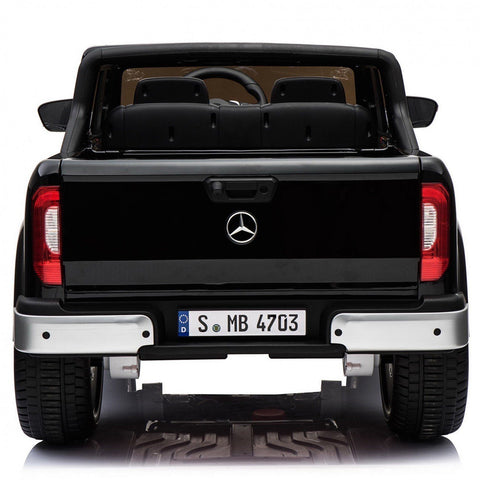 Licensed Mercedes-Benz X-Class 12v 4WD Children's Ride On Pickup - Black - EpicStuff