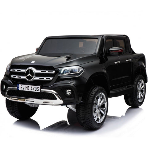 Licensed Mercedes-Benz X-Class 24V* 4WD Children's Ride On Pickup - Black - EpicStuff