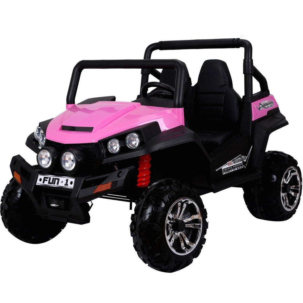 Renegade Maverick RS 24v* 4 X 4 Child's Electric Ride On UTV - Pink - EpicStuff