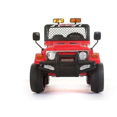 Battery Powered - 12V 2 Seater 4x4 Truck  - Red - EpicStuff