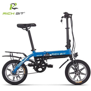 Richbit 14 inch Portable City Folding Electric Bike - EpicStuff