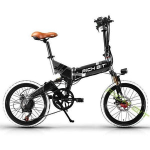 RichBit Mtb ebike 48V 8AH Hidden Battery Folding Electric Bike - 7 speed - EpicStuff