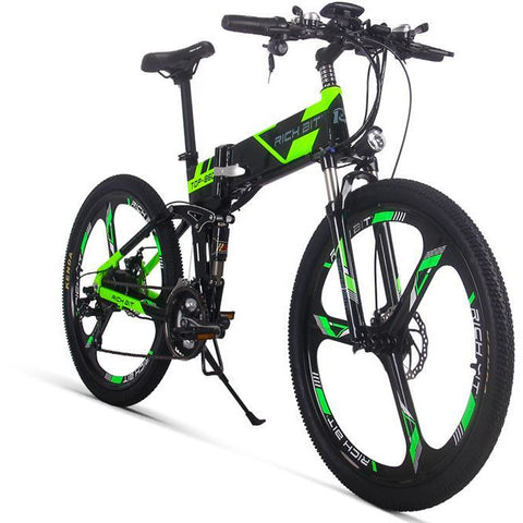 Richbit RT-860 Electric Folding Mountain Bike 250W- 36V  -12.8Ah - EpicStuff