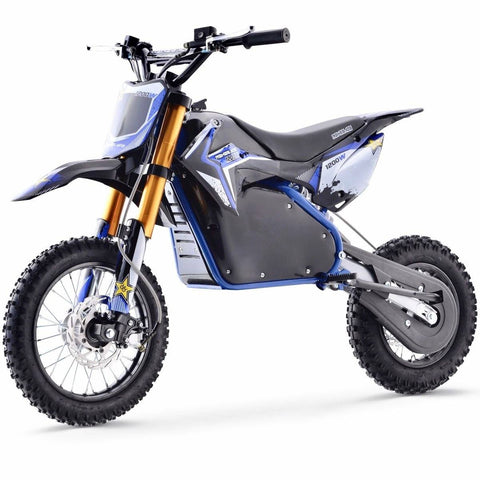 Renegade 1200E 48V 1200W Electric Dirt Bike - Blue - Pre-order - EpicStuff