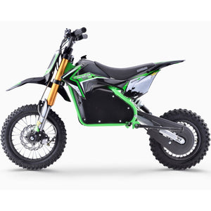 Renegade 1200E 48V 1200W Electric Dirt Bike - Green - Pre-order - EpicStuff
