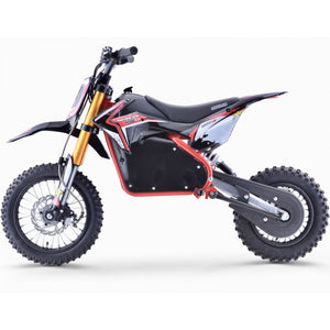 Renegade 1200E 48V 1200W Electric Dirt Bike - Red - Pre-order - EpicStuff