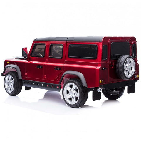 Licensed Land Rover Defender 12v Child's Ride On - Metalic Red - EpicStuff