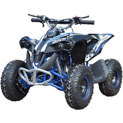 Renegade Race-X 49cc Petrol Kids Quad - Blue - EpicStuff