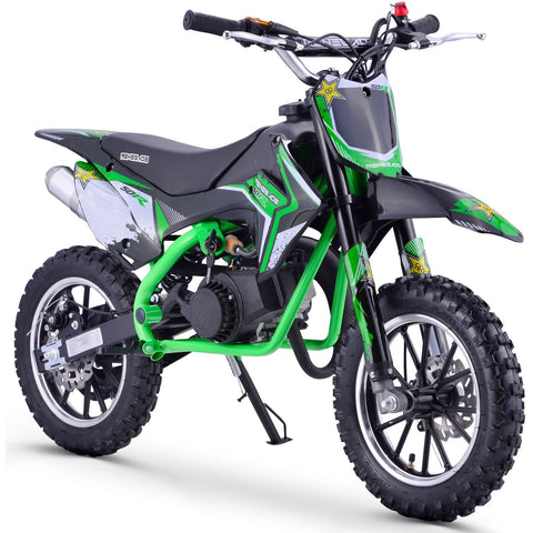 Renegade 50R 49cc Petrol Mini Dirt Bike - Green - EpicStuff