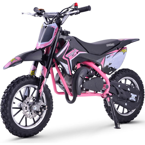 Renegade 50R 49cc Petrol Mini Dirt Bike - Pink - EpicStuff