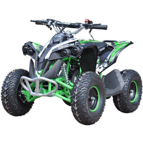 Renegade Race-X 49cc Petrol Kids Quad - Green - EpicStuff