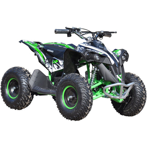 Renegade Race-X 36V 1000W Electric Kids Quad Bike - Green - EpicStuff