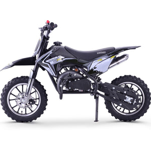 Renegade 50R 49cc Petrol Mini Dirt Bike - White - EpicStuff