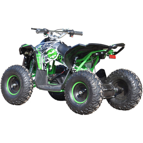 Renegade Race-X 36V 1000W Electric Quad Bike - Green - EpicStuff