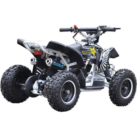 Renegade LT50A Kids Petrol Quad Bike - Black/White - EpicStuff