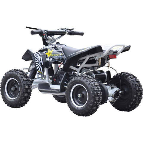 Renegade LT100E Electric Battery 1000w Quad Bike - White/Black - EpicStuff