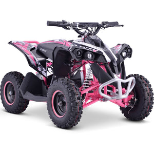 Renegade Race-X 36V 1000W Electric Quad Bike - Pink - EpicStuff