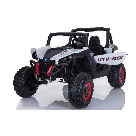 UTV MX 2000 24V* KIDS 4WD BUGGY - EVA WHEELS - WHITE - PRE-ORDER - EpicStuff