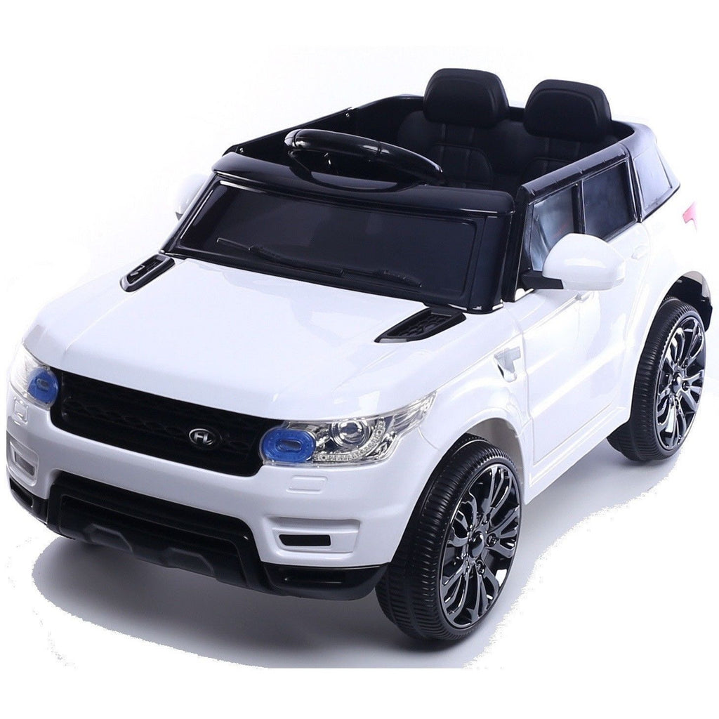 Mini HSE Range Rover Style 12v Child's Ride On Jeep - White - EpicStuff