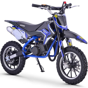 Renegade 50R 49cc Petrol Mini Dirt Bike - Blue - EpicStuff