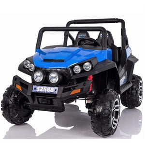 Renegade Maverick RS 24v* 4 X 4 Child's Electric Ride On UTV - Blue - EpicStuff