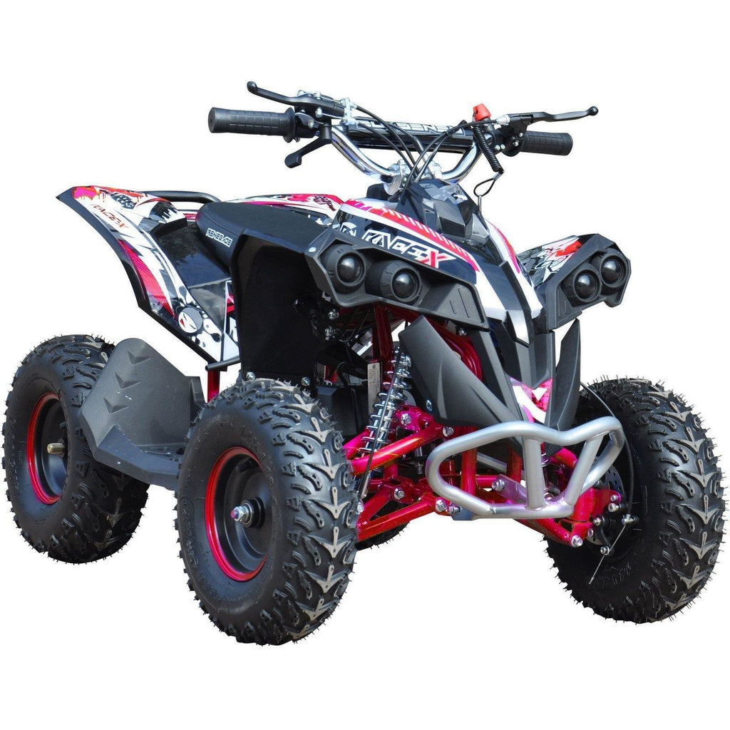 Renegade Race-X 49cc Petrol Quad - Red - EpicStuff