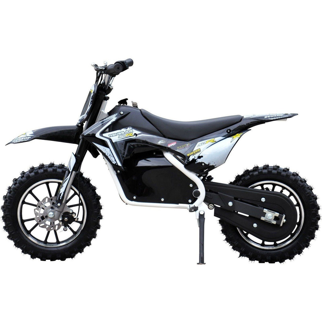Renegade Lithium 50R 500W 36V Mini Dirt Bike - White/Black - EpicStuff