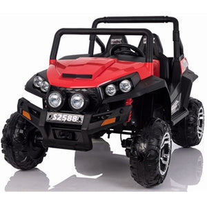 Renegade Maverick RS 24v 4 X 4 Child's Electric Ride On UTV - Red - EpicStuff