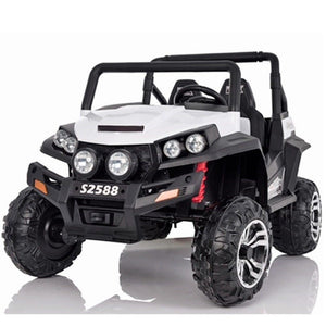 Renegade Maverick RS 24v 4 X 4 Child's Electric Ride On UTV - White - EpicStuff