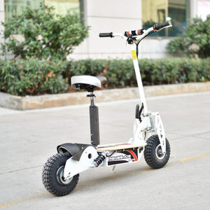 Renegade 1000W Powerboard 36V Electric Scooter - White - EpicStuff