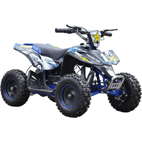 Renegade LT100E Electric Battery 1000w Quad Bike - Blue - EpicStuff