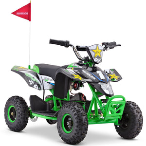 Renegade LT35 Electric Battery 350w Quad Bike - Green - EpicStuff