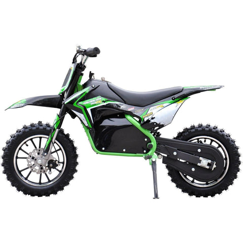 Renegade Lithium 50R 500W 36V Mini Dirt Bike - Green - EpicStuff