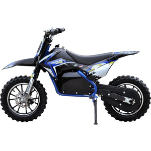 Renegade Lithium 50R 500W 36V Mini Dirt Bike - Blue - EpicStuff