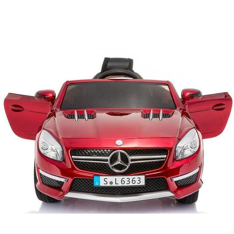 Licensed Mercedes SL63 AMG Ride on 12v Electric Car With Remote Control -Metallic Red - EpicStuff