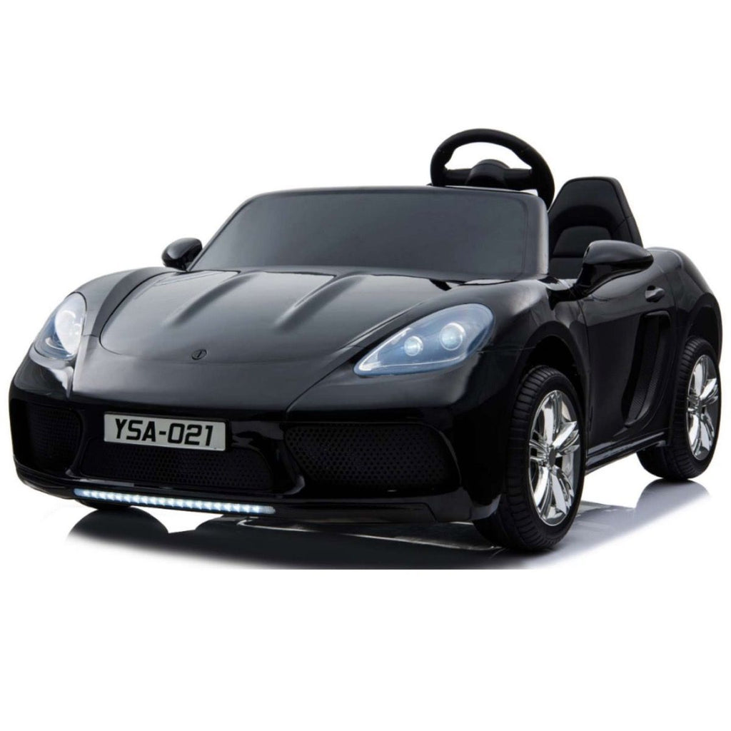 Super Sport XXL 24V Ride On Car with Twin 180W Brushless Motors - Black - EpicStuff