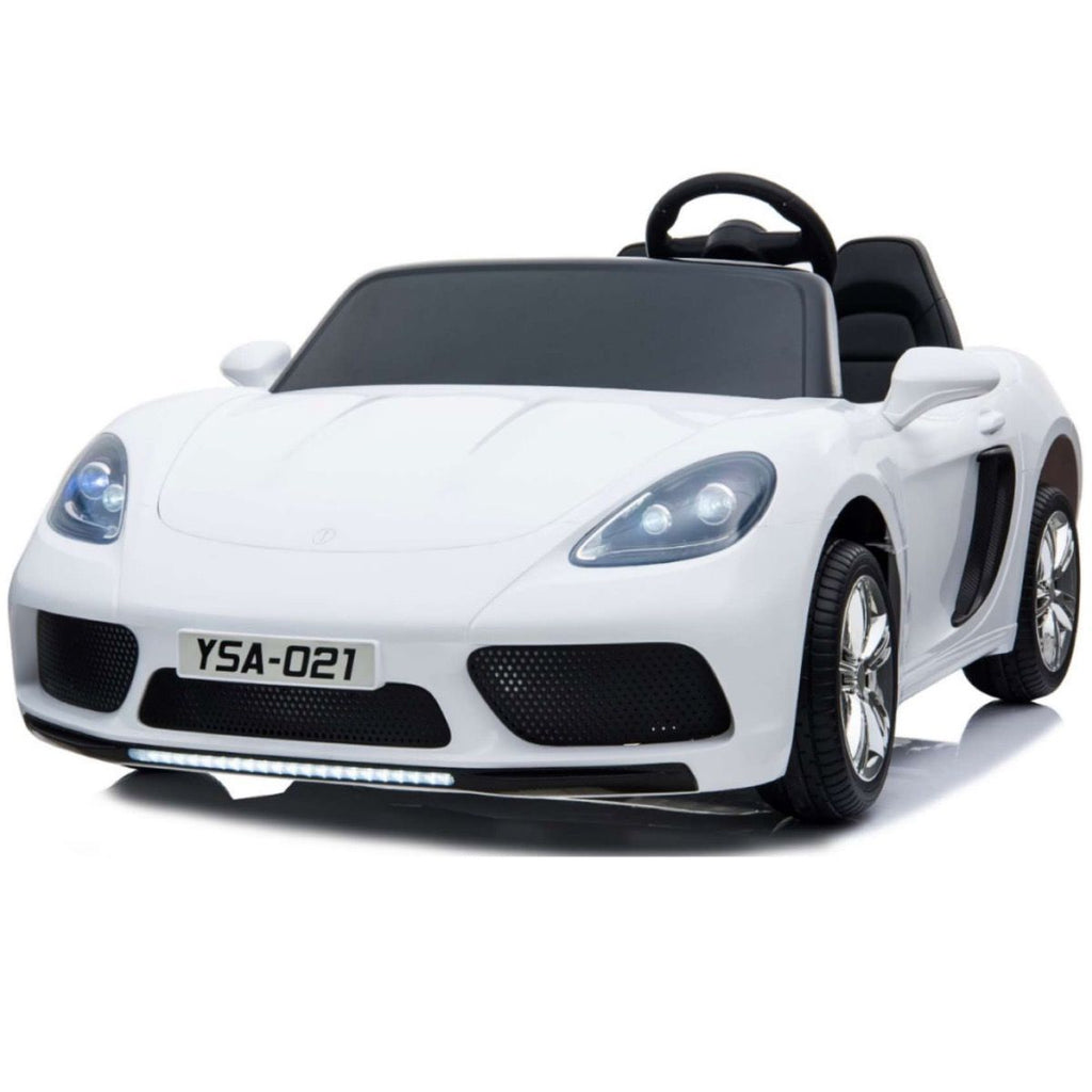 Super Sport XXL 24V Ride On Car with Twin 180W Brushless Motors - White - EpicStuff