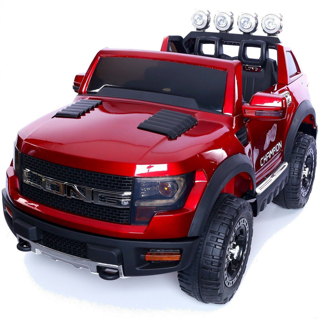 Ford Ranger Wildtrak Style 12v Child's Electric Ride On Jeep - Red - EpicStuff