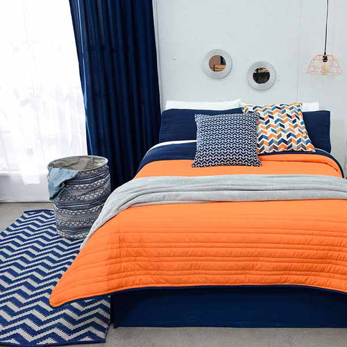 Blue Bedding, Reversible