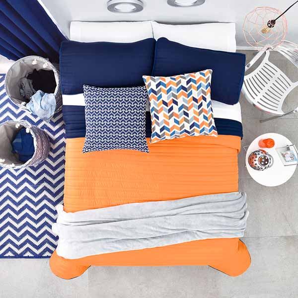 vianney-australia Blue Bedding, Reversible