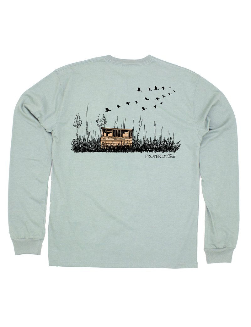Duck Blind Long Sleeve Tee