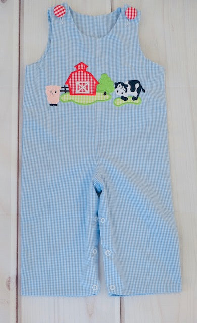 Farm & Nativity Reversible Longall