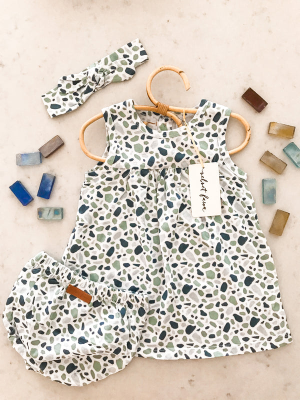 Willow Dress Set- Sea Glass