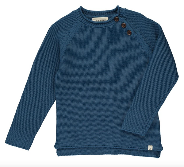 Chandler Sweater- Blue
