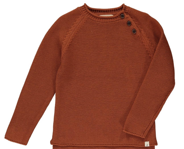 Chandler Sweater- Rust