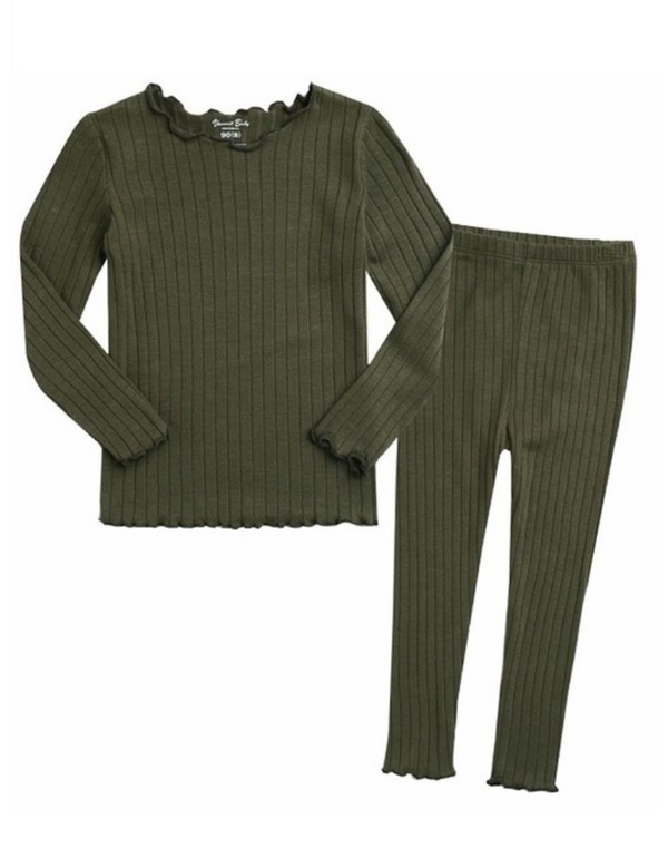 Frances Pajama Set- Forrest