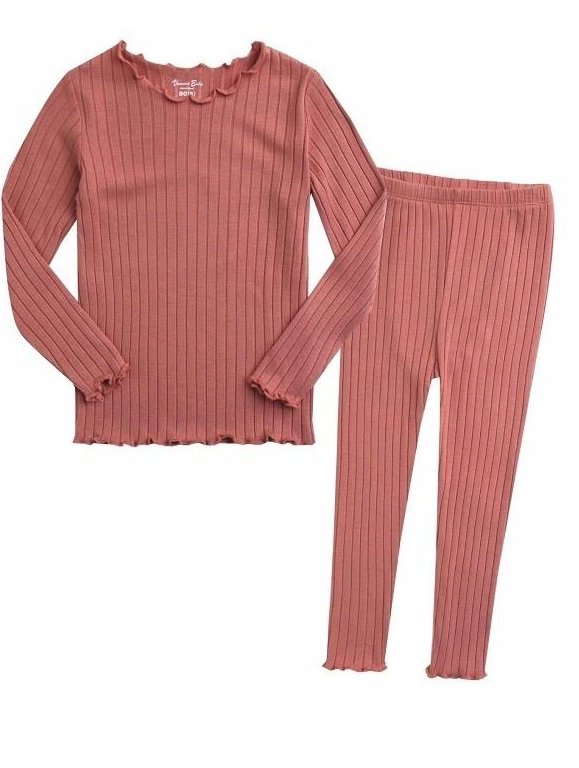 Frances Pajama Set- Dusty Pink