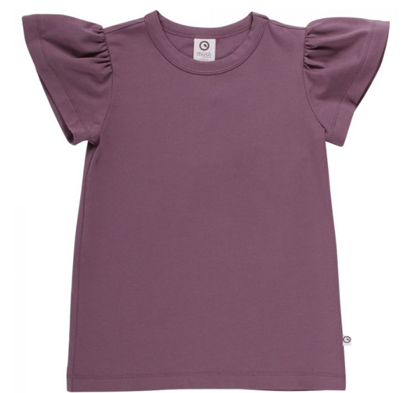 Cozy Me Butterfly Sleeve Tee